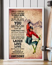 SKIING - TODAY IS A GOOD DAY POSTER 11x17 Poster lifestyle-poster-4
