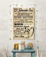 1 TO MY Taekwondo Boy - Mom 16x24 Poster lifestyle-holiday-poster-3