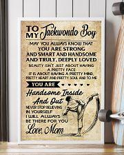 1 TO MY Taekwondo Boy - Mom 16x24 Poster lifestyle-poster-4