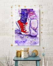 dance shoes watercolor 16x24 Poster lifestyle-holiday-poster-3