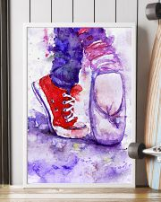 dance shoes watercolor 16x24 Poster lifestyle-poster-4