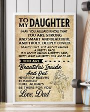 TO MY DAUGHTER- DAD 16x24 Poster lifestyle-poster-4