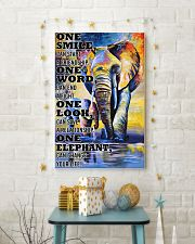 ELEPHANT ONE SMILE POSTER 11x17 Poster lifestyle-holiday-poster-3