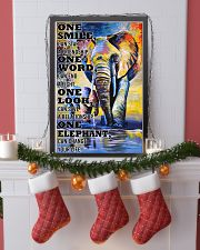 ELEPHANT ONE SMILE POSTER 11x17 Poster lifestyle-holiday-poster-4