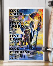 ELEPHANT ONE SMILE POSTER 11x17 Poster lifestyle-poster-4