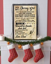 TO MY DIVING GIRL DAD 16x24 Poster lifestyle-holiday-poster-4