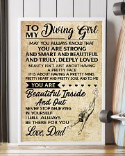 TO MY DIVING GIRL DAD 16x24 Poster lifestyle-poster-4