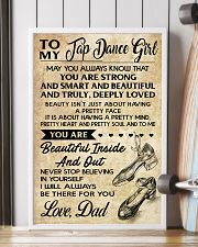 TO MY TAP DANCE GIRL - DAD 16x24 Poster lifestyle-poster-4