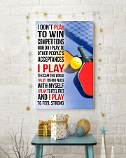 I DON'T PLAY TO WIN COMPETITIONS - PICKLEBALL 11x17 Poster lifestyle-holiday-poster-3