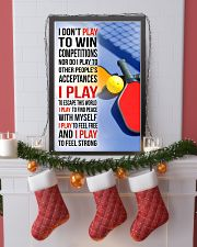 I DON'T PLAY TO WIN COMPETITIONS - PICKLEBALL 11x17 Poster lifestyle-holiday-poster-4