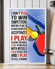 I DON'T PLAY TO WIN COMPETITIONS - PICKLEBALL 16x24 Poster lifestyle-poster-4
