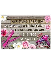 HAIRSTYLING IS PASSION POSTER - LQT 36x24 Poster front