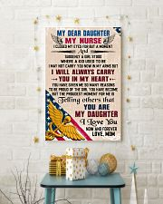 MY DEAR DAUGHTER - Nurse 16x24 Poster lifestyle-holiday-poster-3