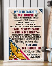 MY DEAR DAUGHTER - Nurse 16x24 Poster lifestyle-poster-4