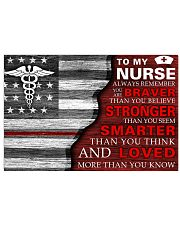 TO MY A NURSE 17x11 Poster front