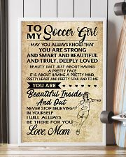 TO MY SOCCER GIRL- MOM 16x24 Poster lifestyle-poster-4