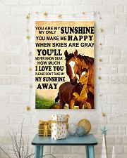 Horse - You are my sunshine 16x24 Poster lifestyle-holiday-poster-3