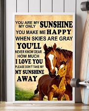 Horse - You are my sunshine 16x24 Poster lifestyle-poster-4