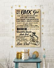 TO MY  BMX Girl DAD 16x24 Poster lifestyle-holiday-poster-3