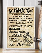 TO MY  BMX Girl DAD 24x36 Poster lifestyle-poster-4