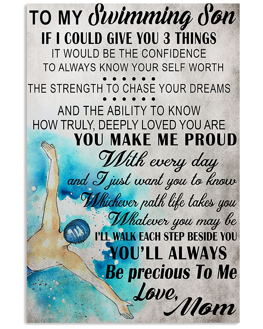 4 I COULD GIVE YOU swimming 16x24 Poster