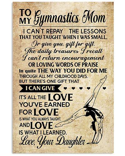 Gymnastics - Loving Words Poster SKY