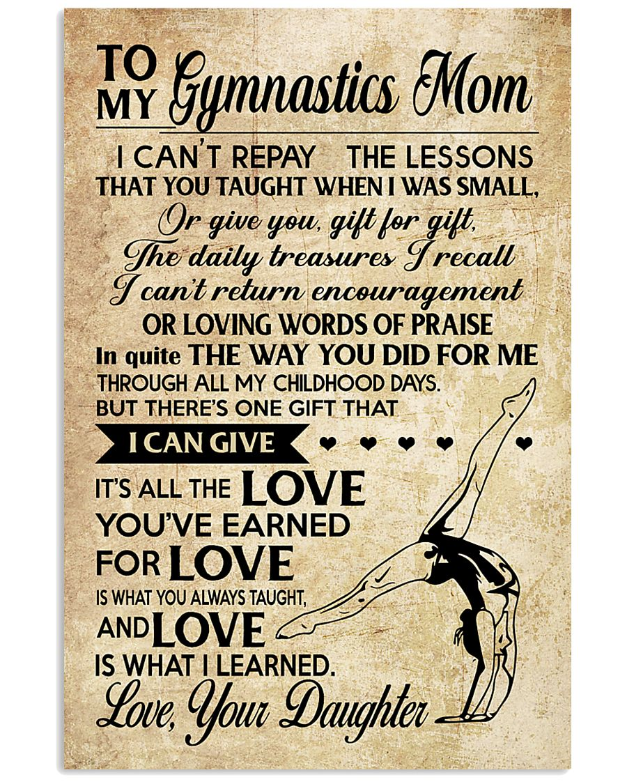 Gymnastics - Loving Words Poster SKY 11x17 Poster