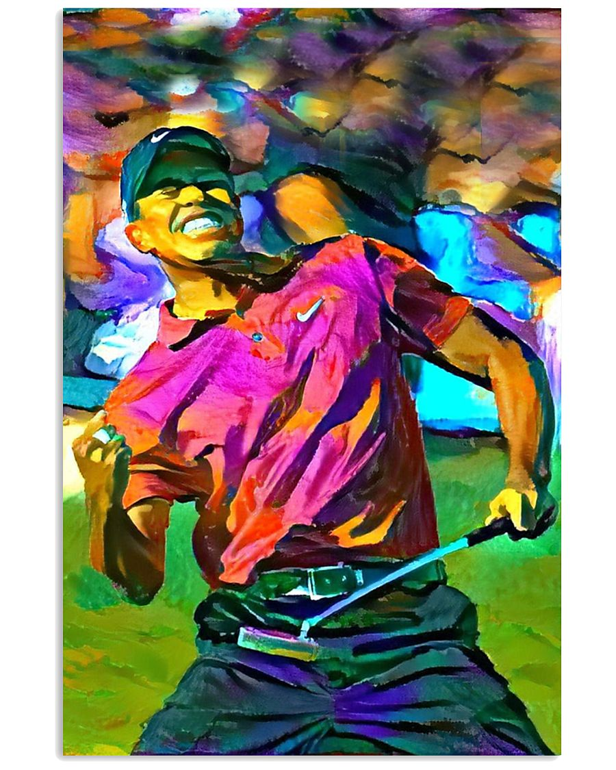 Tiger Woods Art poster 11x17 Poster