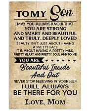 TO MY SON 16x24 Poster front