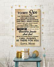TO MY SON 16x24 Poster lifestyle-holiday-poster-3