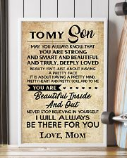TO MY SON 16x24 Poster lifestyle-poster-4