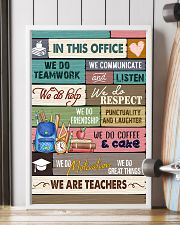 IN THIS OFFICE - WE ARE TEACHERS POSTER 11x17 Poster lifestyle-poster-4