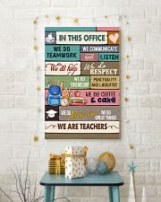 IN THIS OFFICE - WE ARE TEACHERS POSTER 24x36 Poster lifestyle-holiday-poster-3