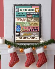 IN THIS OFFICE - WE ARE TEACHERS POSTER 24x36 Poster lifestyle-holiday-poster-4