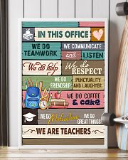 IN THIS OFFICE - WE ARE TEACHERS POSTER 24x36 Poster lifestyle-poster-4