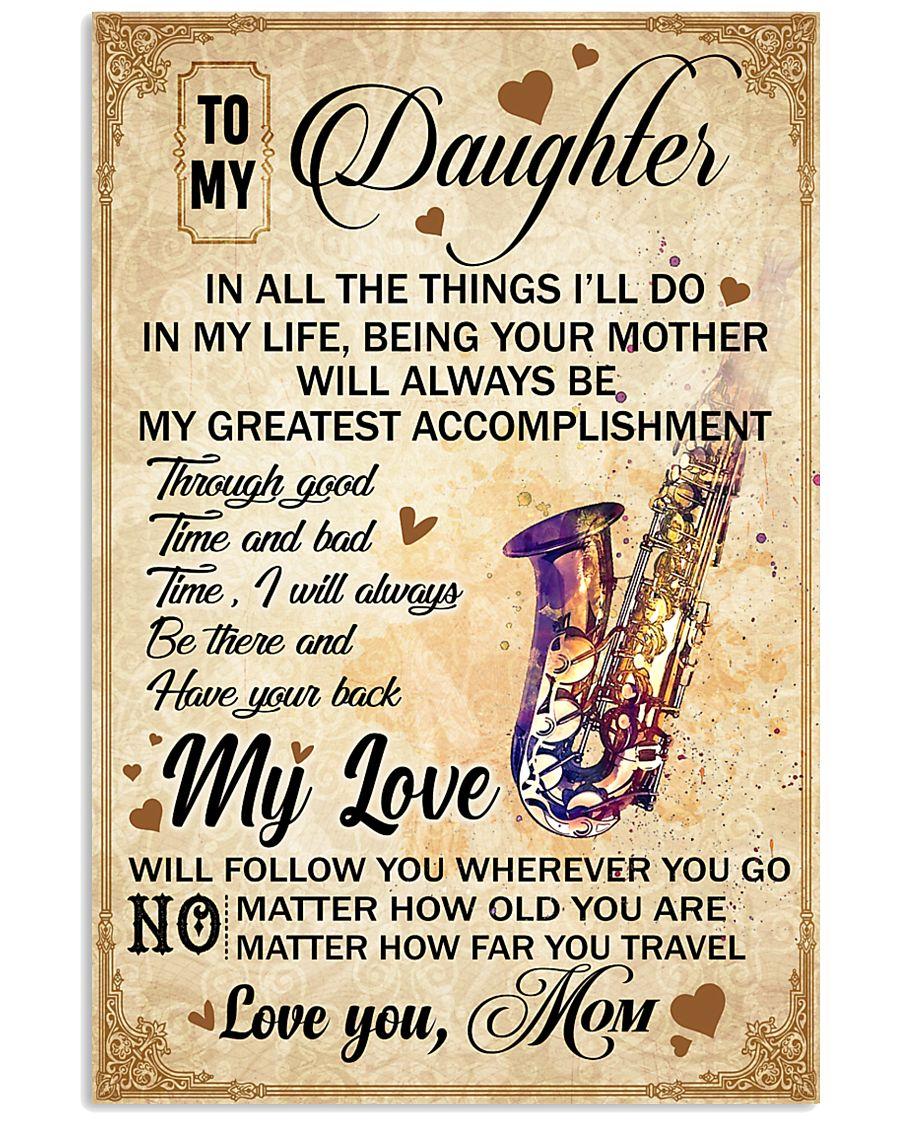 Saxophone - My Love Poster Blanket SKY 16x24 Poster