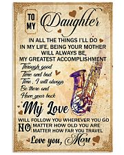 Saxophone - My Love Poster Blanket SKY 16x24 Poster front