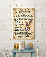 Saxophone - My Love Poster Blanket SKY 16x24 Poster lifestyle-holiday-poster-3