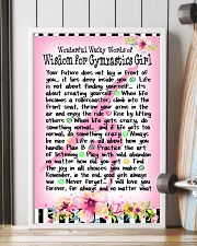 GYMNASTICS GIRL - WONDERFUL WACKY WORDS 11x17 Poster lifestyle-poster-4