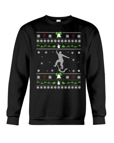 Base jumping Christmas Ugly Sweater