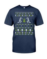Ugly Christmas cricket Sweater Classic T-Shirt thumbnail