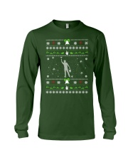 Ugly Christmas Painter Sweater Long Sleeve Tee thumbnail
