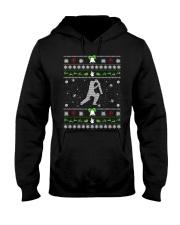 Cricket Ugly Christmas Sweater Hooded Sweatshirt thumbnail