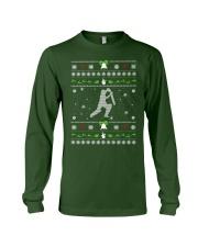Cricket Ugly Christmas Sweater Long Sleeve Tee thumbnail