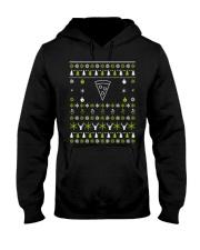 Pizza Christmas Ugly Sweater Hooded Sweatshirt thumbnail