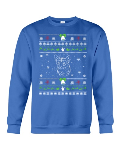 Abyssinian Ugly Christmas Sweater