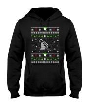 Electrician Ugly Christmas Sweater Hooded Sweatshirt thumbnail