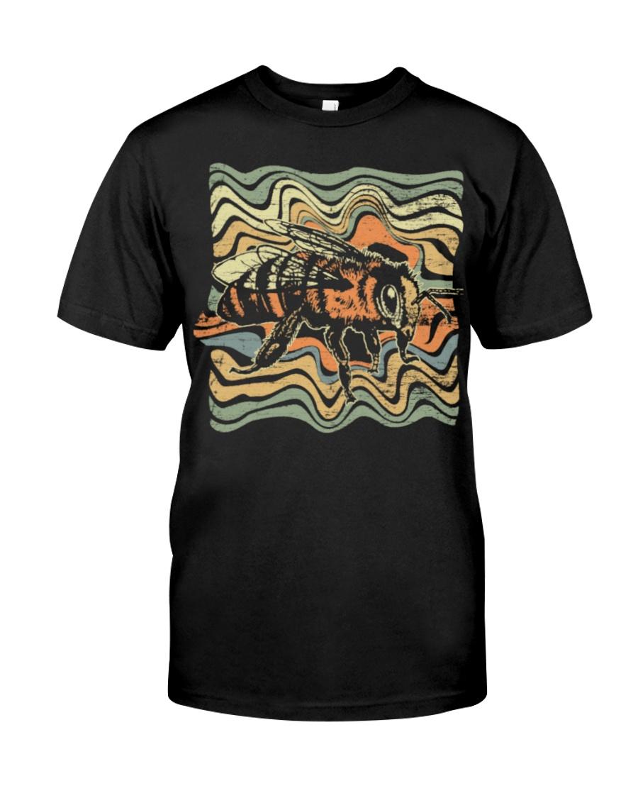 4 Bee V1 Grunge Funny shirts Classic T-Shirt