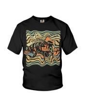 4 Bee V1 Grunge Funny shirts Youth T-Shirt thumbnail