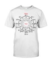 CIRCLE OF FIFTHS Classic T-Shirt thumbnail